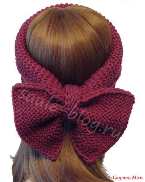 Красивые повязки на голову для новорожденных - Своими руками 85