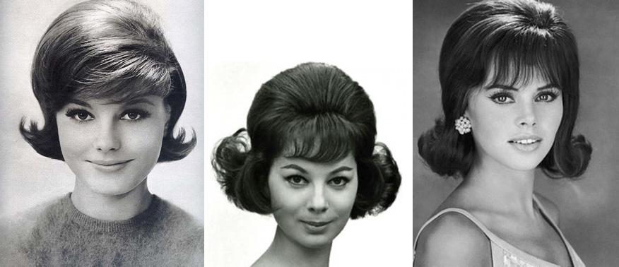 Прически 60-х годов фото на средние волосы