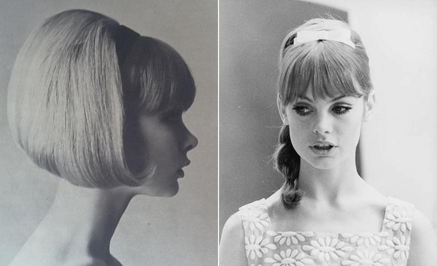 Прически 60 х годов фото платья