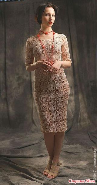 Платье Искристый коктейль (новогоднее)
