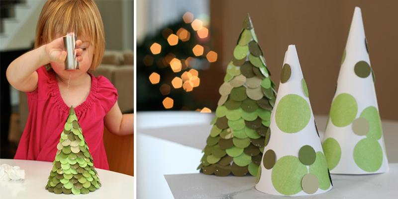 Новогодние поделки своими руками из бумаги и картона фото