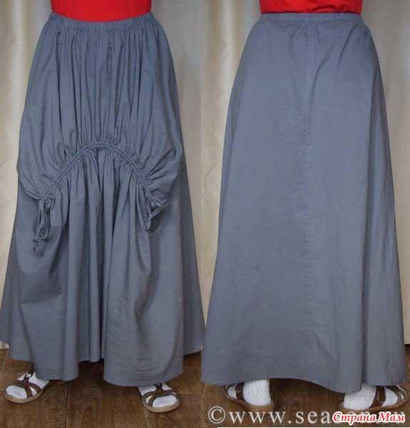 Шьем юбку в стиле бохо. Мастер класс от www.SEASON.ru