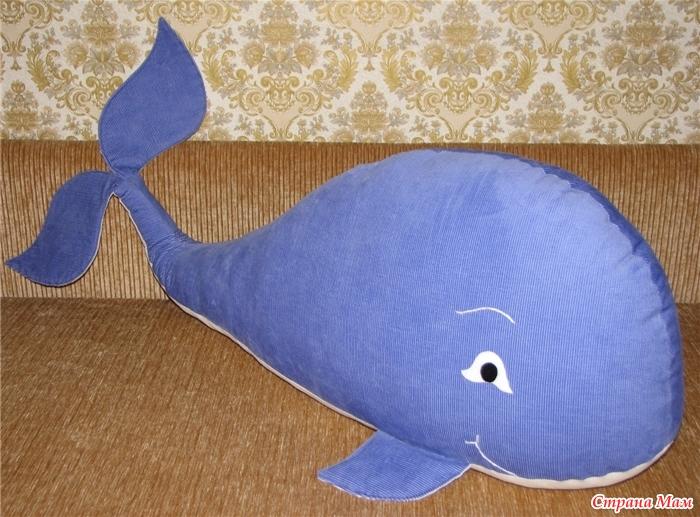 Подушка своими руками кит
