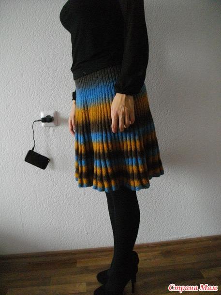 Сколько ниток для юбки