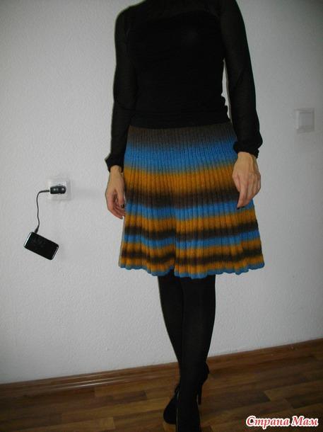 Юбка болгарская из кауни