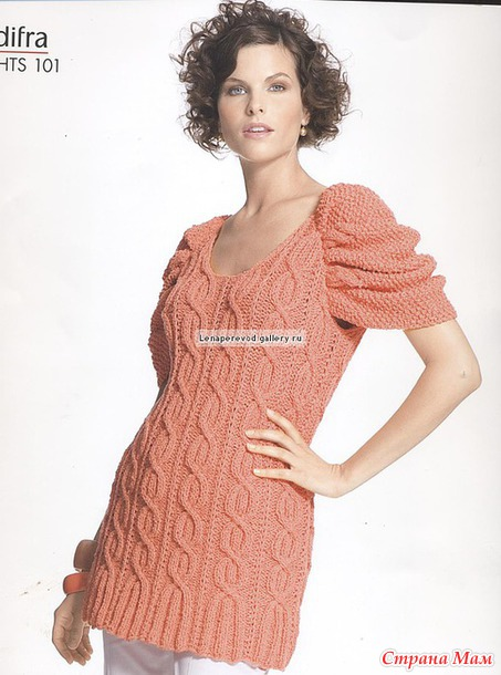 Туника-пуловер
