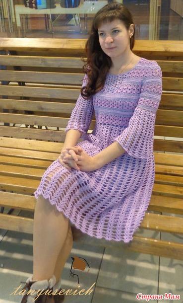 Платье Сиреневый день
