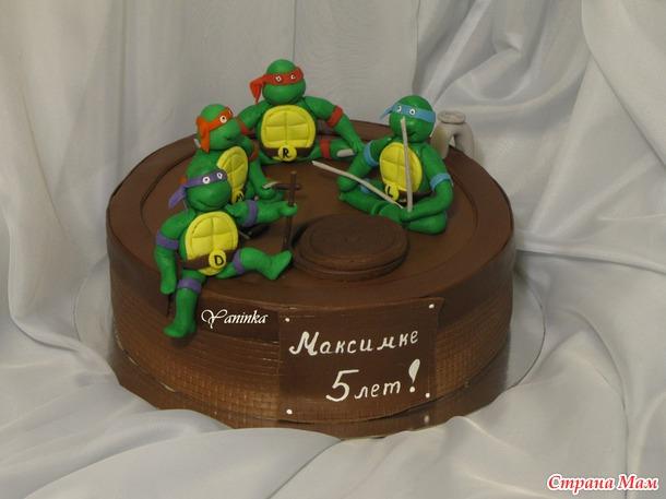 Тэги детские торты торт с ниндзя