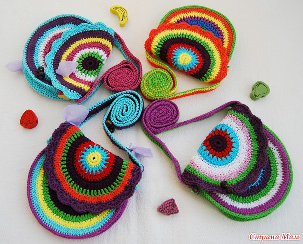 сумочки для ярких девочек.