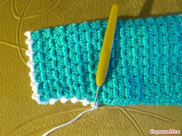 Вязание кофт крючком без швов