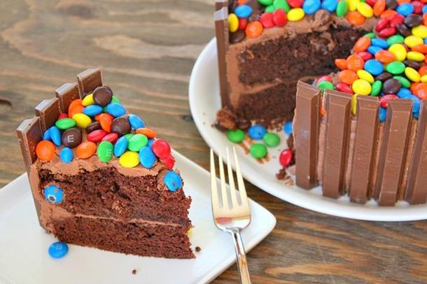 Вкусный торт на день рождения своими руками