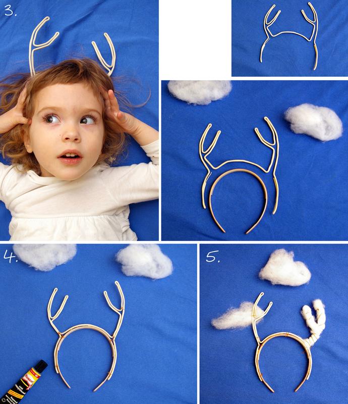 Как сделать рога оленя своими руками