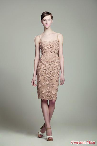 Вязание дизайнеры платьев