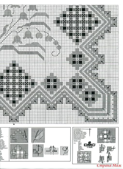 Схема ландышей