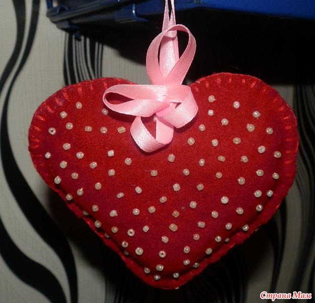 Игольницы-сердечки своими руками