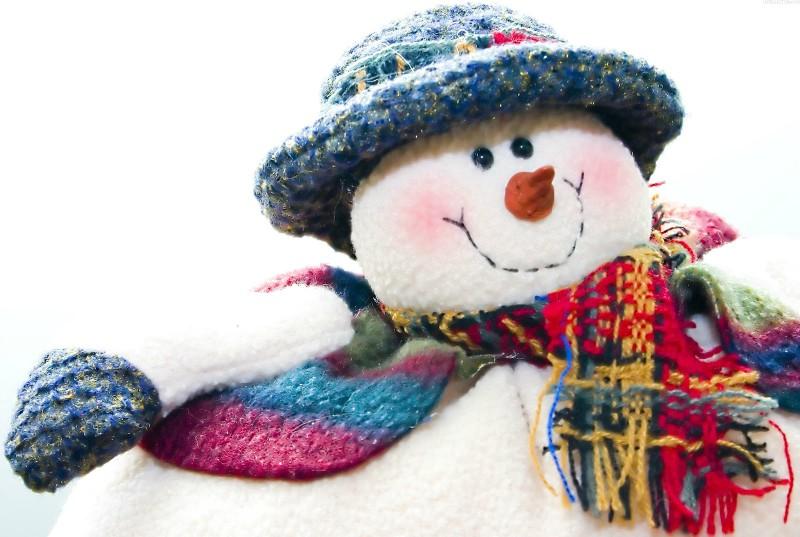 Прикольные снеговики картинки 4