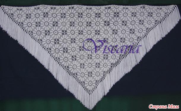 """хризантемы"""" или шаль"""