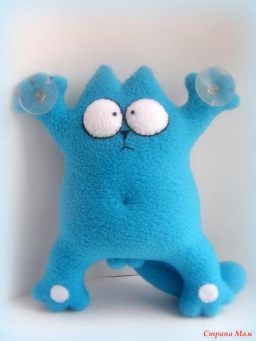 Игрушка кот своими руками подушка