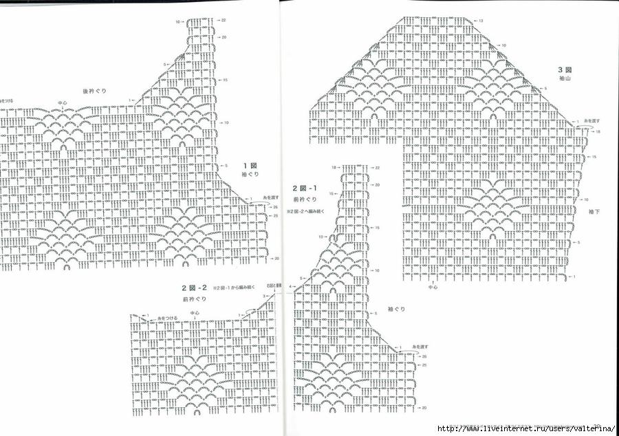 Схема филейных рисунков крючком