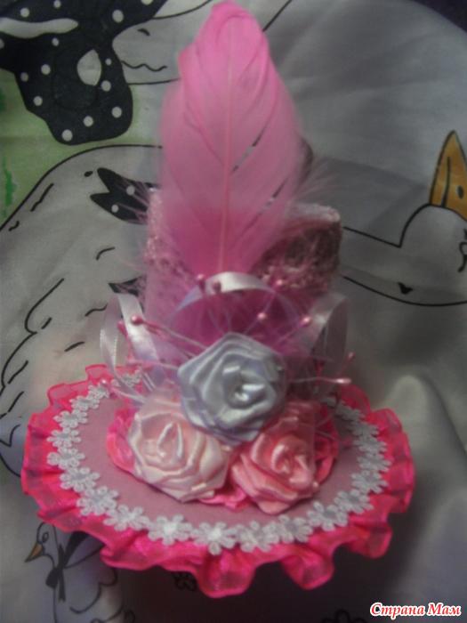 Шляпки для девочек на конкурс в детский сад