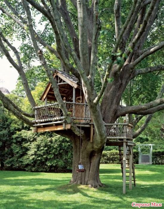 Детский домик на дереве своими руками проект