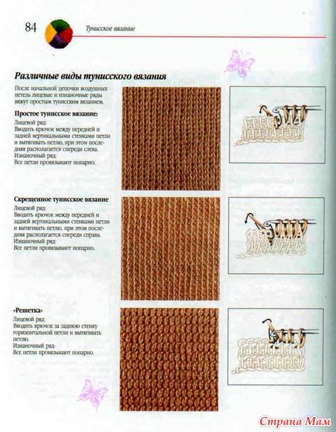 *Совершенствуя мастерство. Тунисское, филейное вязание, шишечки и др.