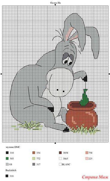 Вышивка советских мультфильмов