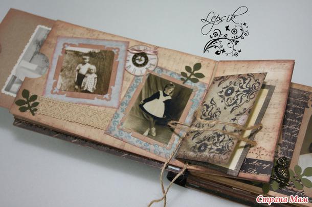 Фотоальбом для мамы на юбилей своими руками