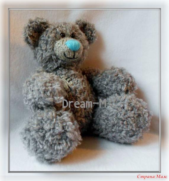 """Мишка Teddy из """"Furlana"""". - Вязание - Страна Мам"""