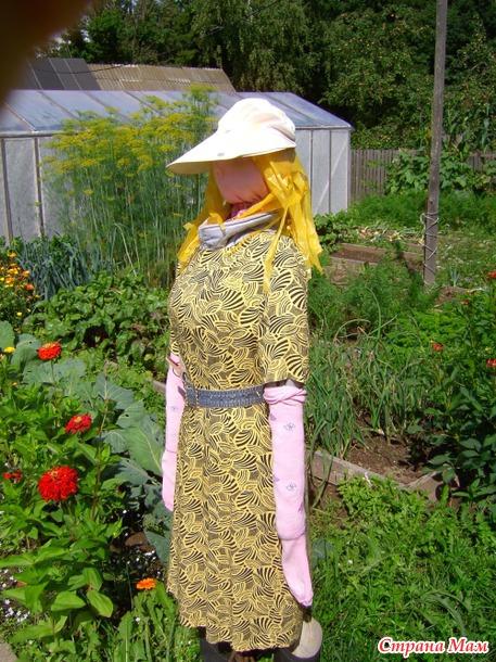 Фото поделок на огороде