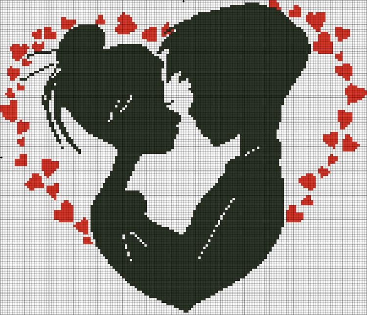 Вышивка картинки что такое любовь