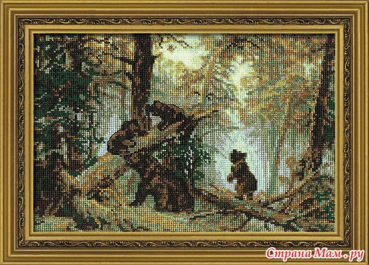 """""""Утро с сосновом лесу"""""""