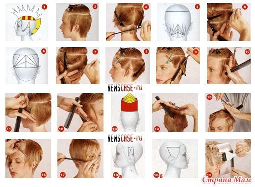 Короткие стрижки женские как подстригать