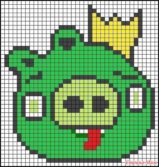 Вышиваем Angry Birds