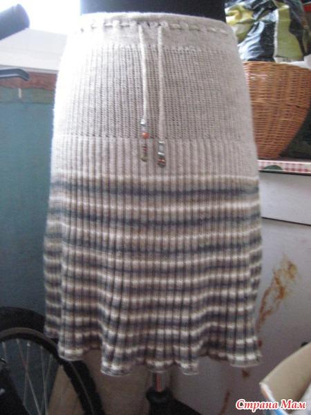 Японо-болгарская юбка солнце-клеш.
