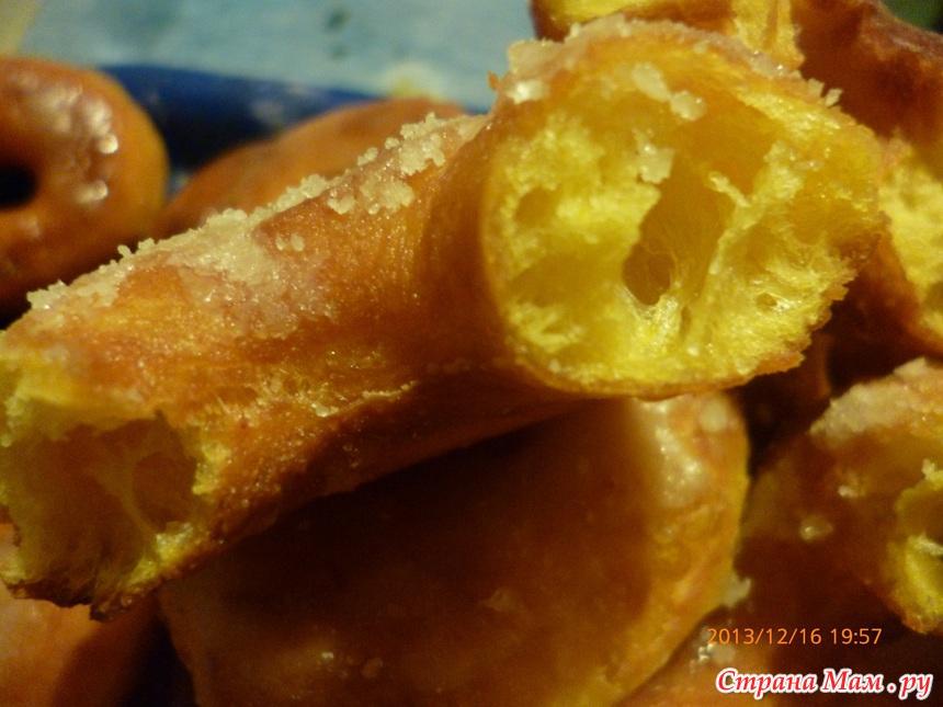 Пончики рецепт без дрожжей с фото пышные