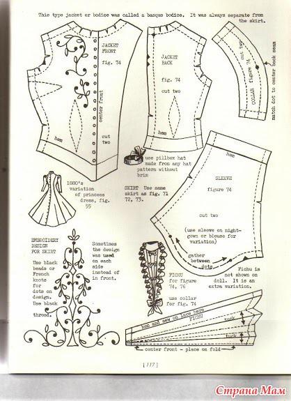 выкройка одежды на немецкую овчарку