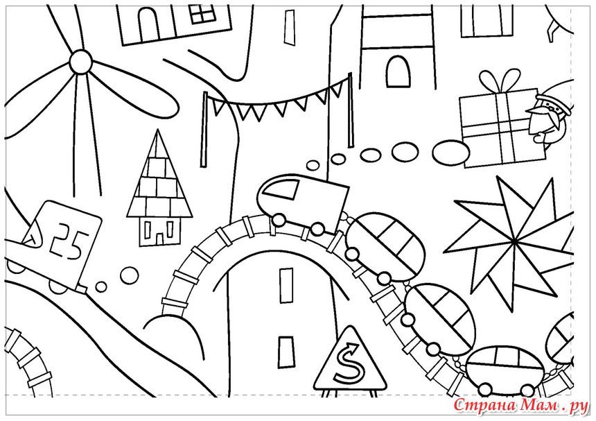 Детские раскраски. Онлайн раскраска. Разукрашки и.