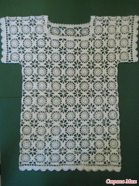 Туника (платье) летнее мотивами