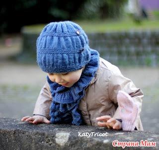 Шапочка и шарф от Ekaterina Blanchard