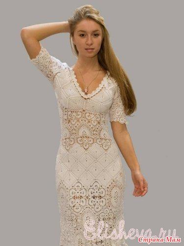 Очень эффектное платье!