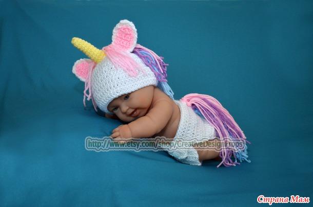 Единорожка :) Для фотосессии новорождённым