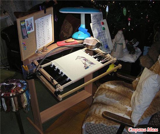 Вышивка станок для вышивки