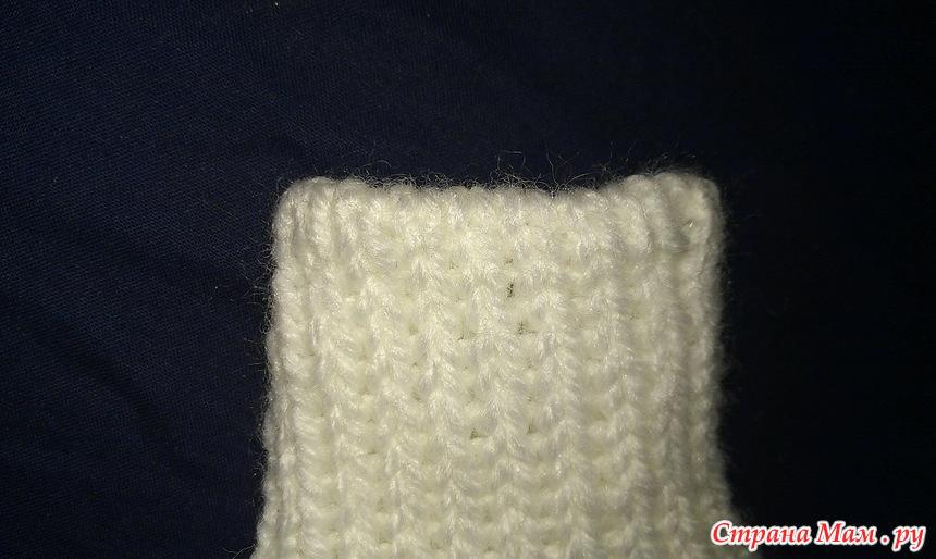 эластичный шов в вязании