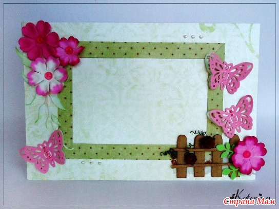 Как сделать красивую рамку для фотографии