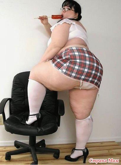 фото толстых женщин раком
