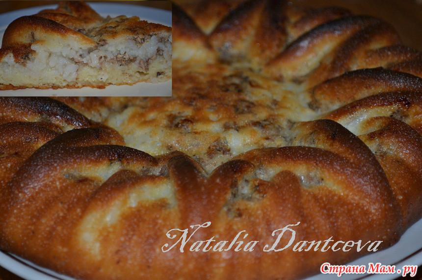 Сладкие пироги из жидкого теста рецепты