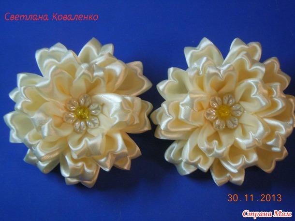 Красивый необычный цветок МК