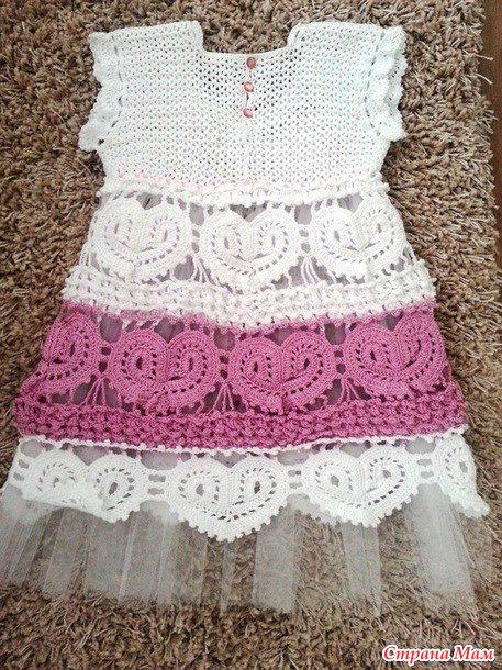 Платье Сердечки он-лайн