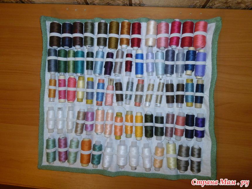 Хранение швейных принадлежностей своими руками